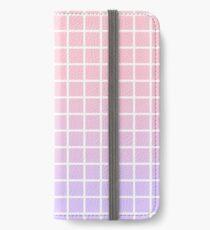 Raster horizontal iPhone Flip-Case/Hülle/Skin