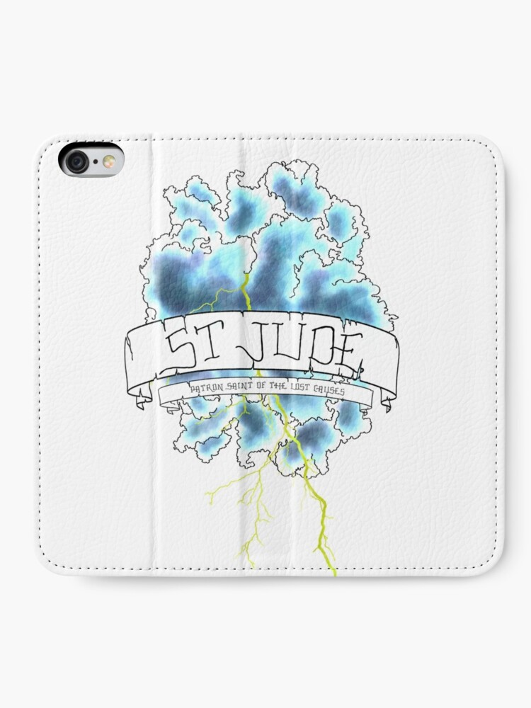 Alternative Ansicht von Florenz + die Maschine - St. Jude iPhone Flip-Case