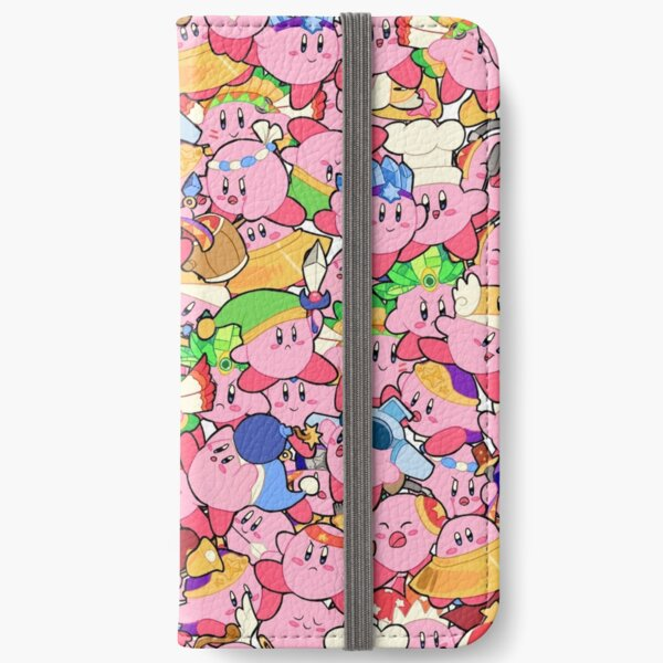 Kirby Patterns  iPhone Wallet