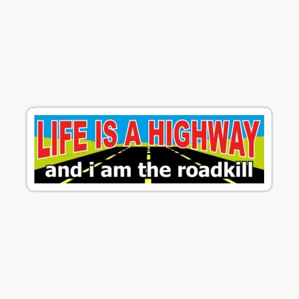 Highway Sticker Sticker