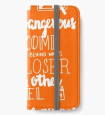 Walter Mitty Life Motto - White iPhone Wallet/Case/Skin