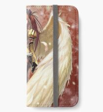 Anime Angel Girl. iPhone Wallet/Case/Skin