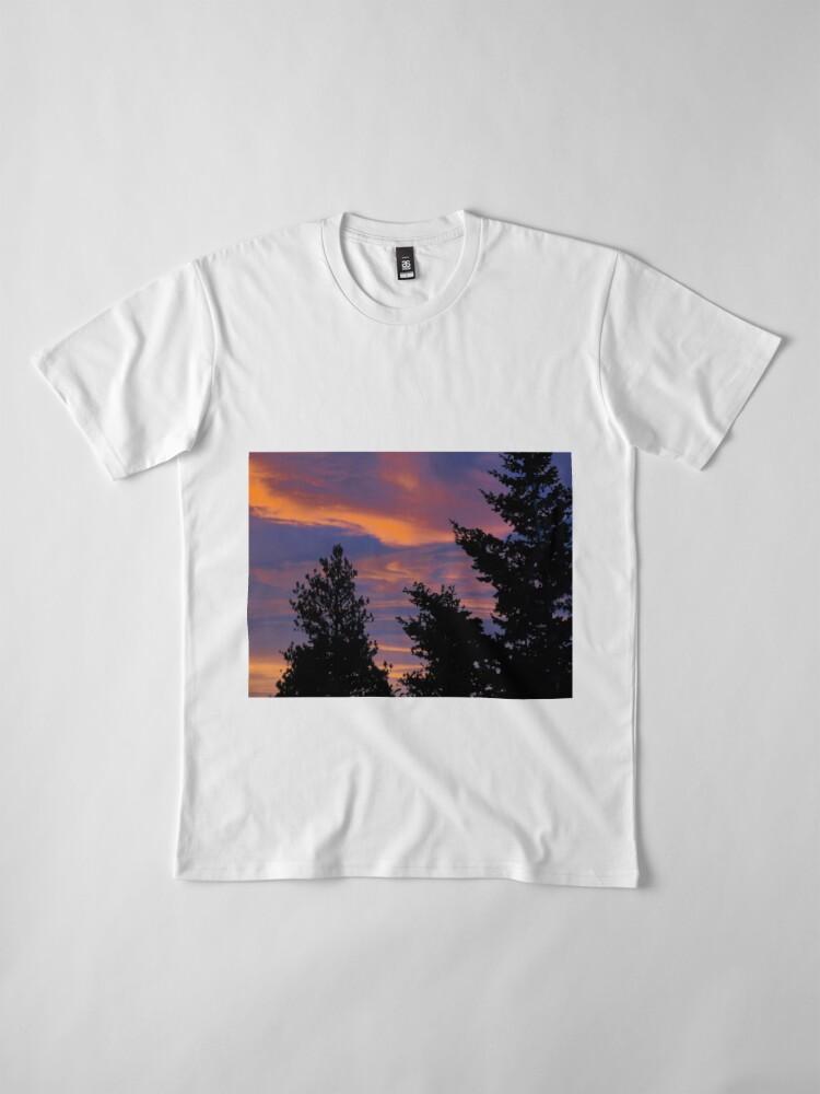 Alternate view of sunrise  Premium T-Shirt