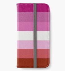 Lipstick Lesbian Flag iPhone Wallet/Case/Skin