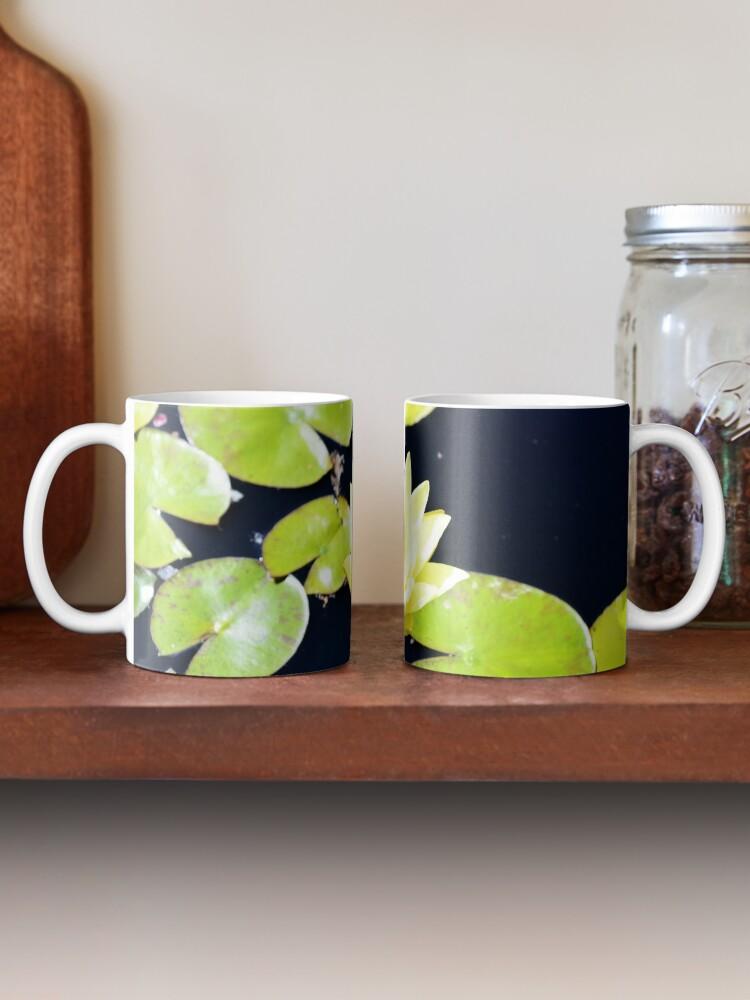 Alternate view of Yellow flower Mug