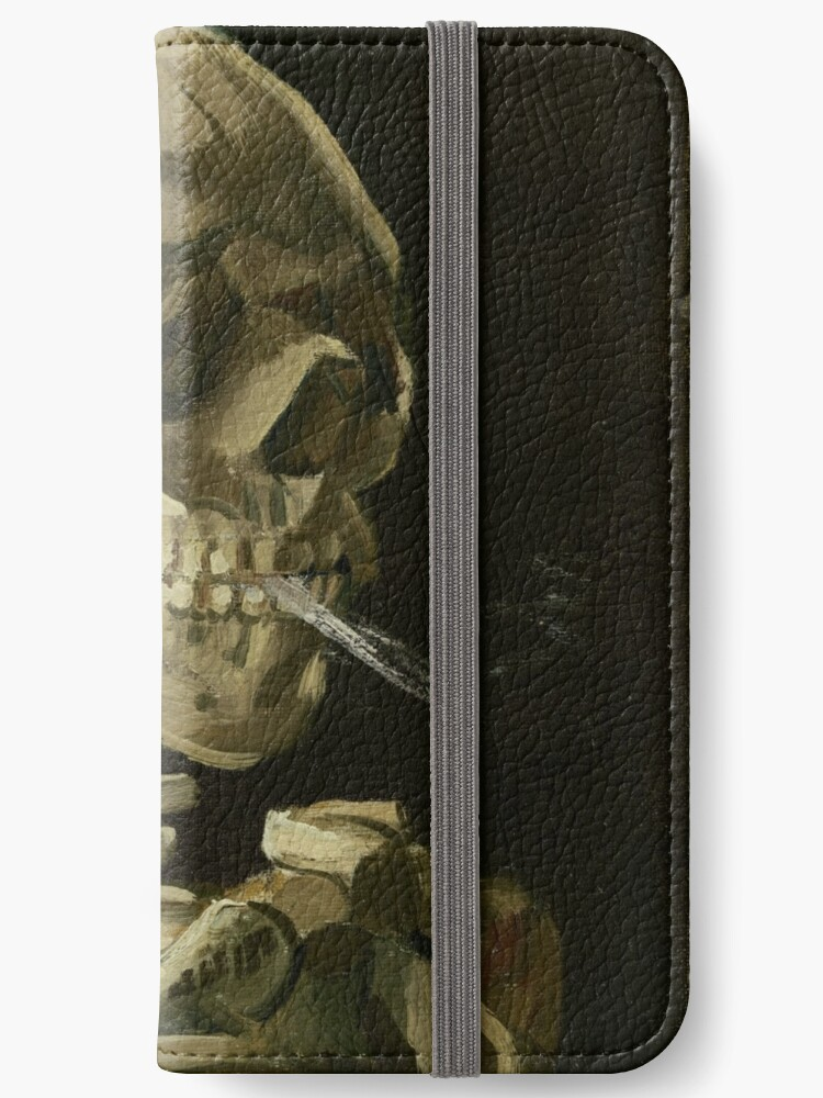 «Vincent Van Gogh esqueleto humeante» de Acosmist