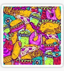 Fast Food Frenzy! Sticker