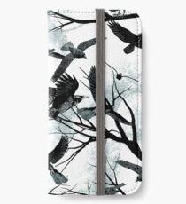 Amseln iPhone Flip-Case/Hülle/Klebefolie