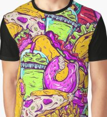 Fast Food Frenzy! Graphic T-Shirt