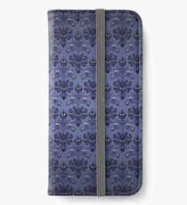 Haunted Mansion Damask iPhone Flip-Case/Hülle/Klebefolie