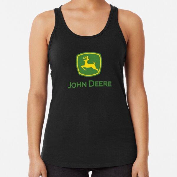 John Deere Best Racerback Tank Top