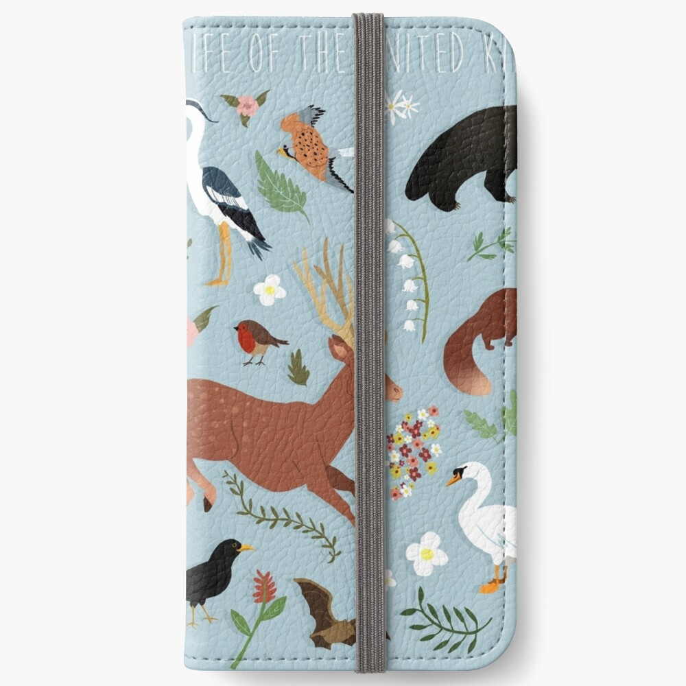 Wildlife of the United Kingdom iPhone Wallet