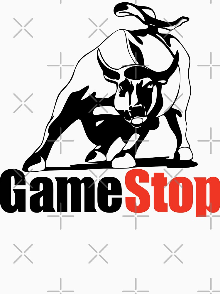 game stop wall street bull by MickyDeeTees