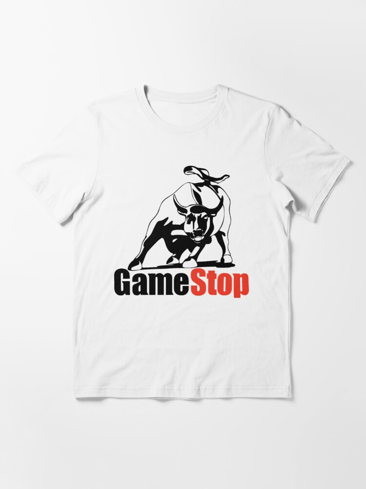 Alternate view of game stop wall street bull Essential T-Shirt