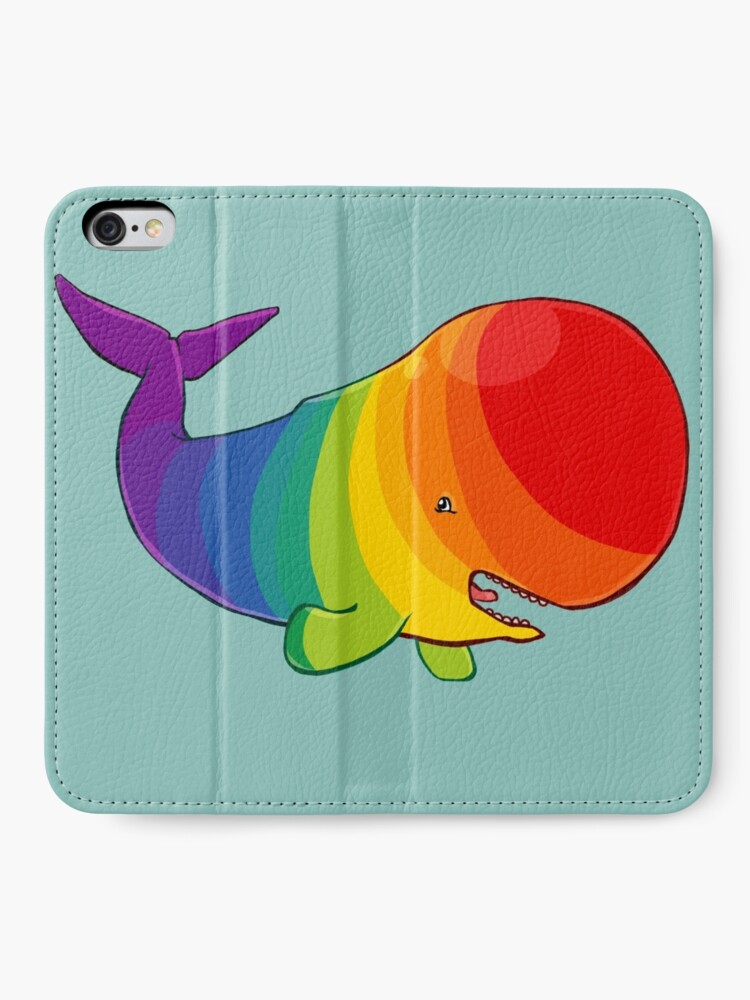 Alternate view of Homosexuwhale - no text iPhone Wallet