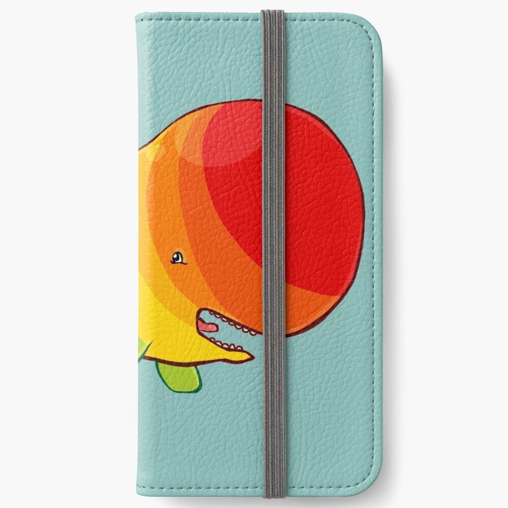 Homosexuwhale - no text iPhone Wallet