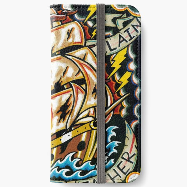 One Fine Day of Plain Sailing Weather iPhone Wallet