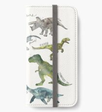 Dinosaurs iPhone Wallet/Case/Skin
