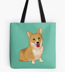 Cute smiling corgi Tote Bag