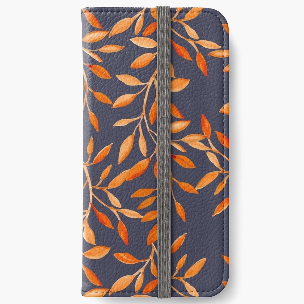 Autumn pattern iPhone Wallet