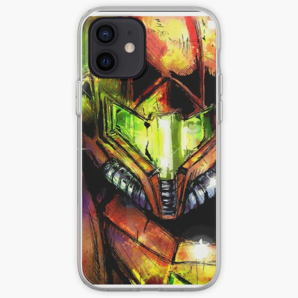 Metroid Varia Suit Samus Coque souple iPhone