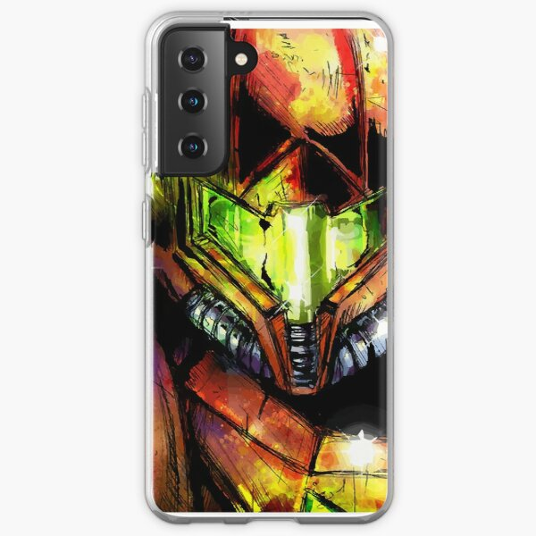Metroid Varia Suit Samus Samsung Galaxy Soft Case