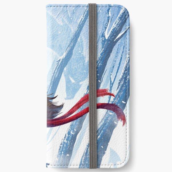 Winter Dragon iPhone Wallet