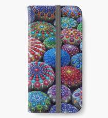 Vinilo o funda para iPhone Jewel Drop Mandala Stone Collection # 2