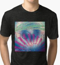 Swirls and Rays, Gradients and Spirals Tri-blend T-Shirt