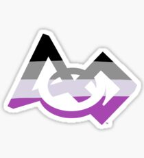 Asexual - FIRST Pride Sticker