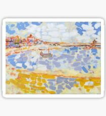 Harbour & Boats Sticker