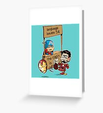 The Cap'n Is In Greeting Card