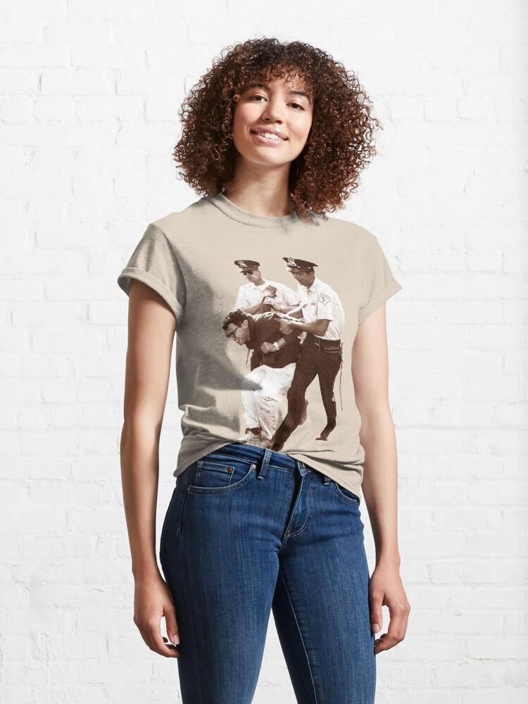 Alternate view of Bernie Sanders Arrested Classic T-Shirt