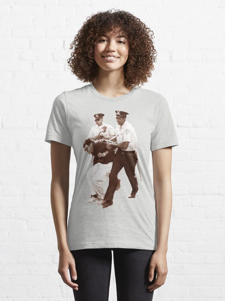 Alternate view of Bernie Sanders Arrested Essential T-Shirt