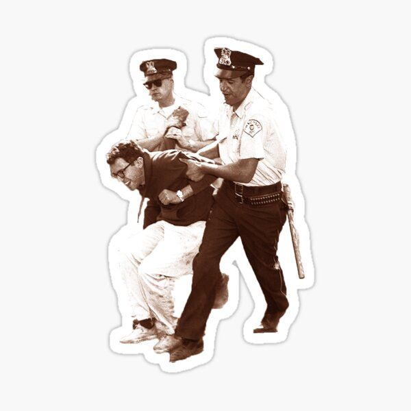 Bernie Sanders Arrested Sticker