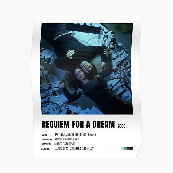 Requiem For A Dream minimalist poster Poster
