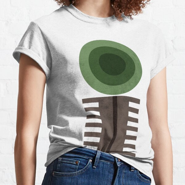 Geometric Abstract Forest Classic T-Shirt