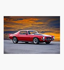 1970 Chevrolet Camaro Z28 Photographic Print