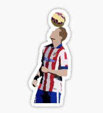 Fernando Torres Minimalistic Sticker Sticker