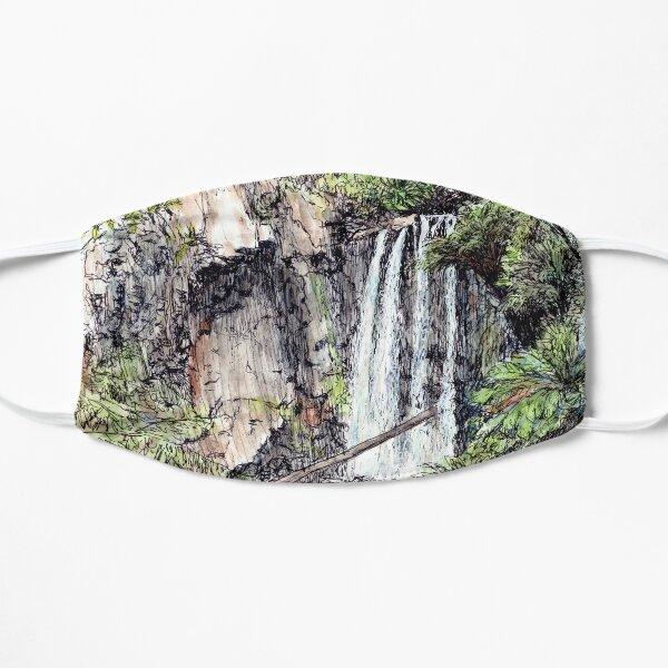 Australian Scene - Hopetoun Falls, Otway Ranges, Vic, Aus. Flat Mask