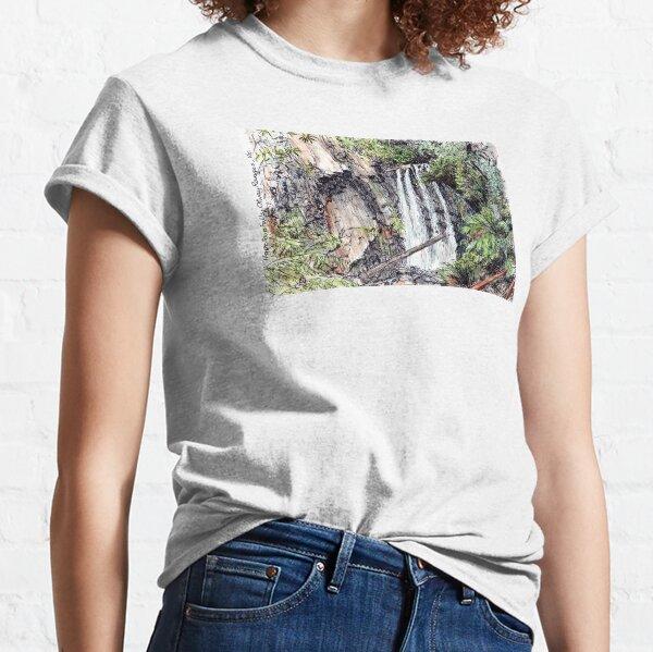 Australian Scene - Hopetoun Falls, Otway Ranges, Vic, Aus. Classic T-Shirt