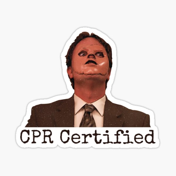 CPR Certified  Sticker