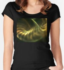 Gingko Fitted Scoop T-Shirt