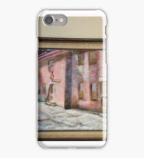 East Side Courtyard iPhone Case/Skin