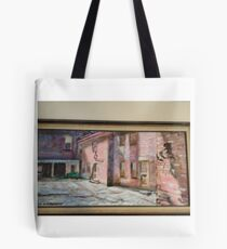 East Side Courtyard Tote Bag