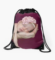 Ava James Drawstring Bag