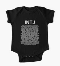INTJ - The Mastermind - DESCRIPTION One Piece - Short Sleeve