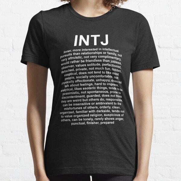 INTJ - The Mastermind - DESCRIPTION Essential T-Shirt