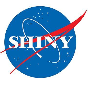 Shiny - NASA logo by ibx93