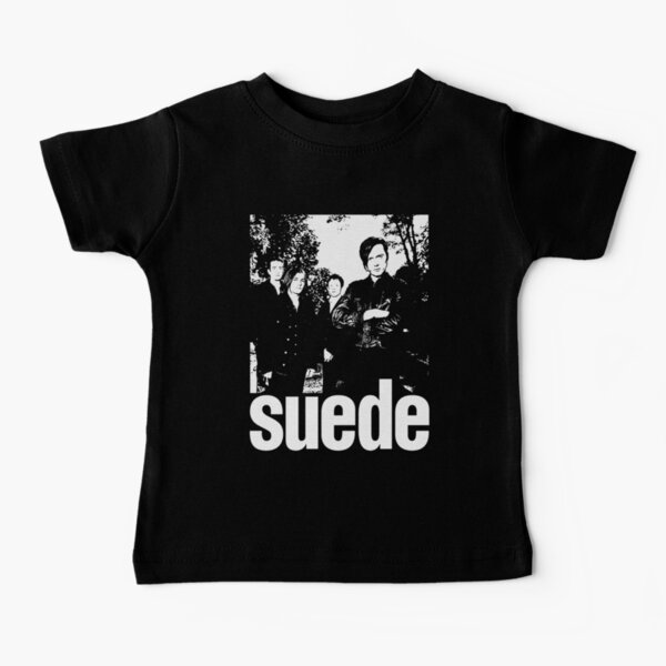 Arte de plantilla de gamuza Camiseta para bebés